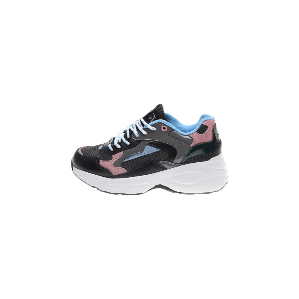 19V69 ITALIA – Γυναικεία sneakers 19V69 ITALIA μαύρα ροζ μπλε