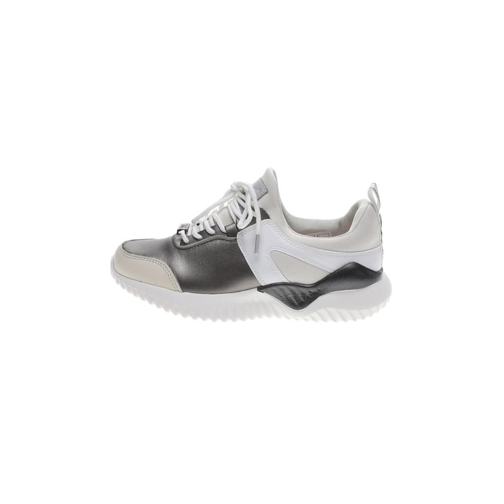 19V69 ITALIA – Γυναικεία sneakers 19V69 ITALIA ασημι μπεζ