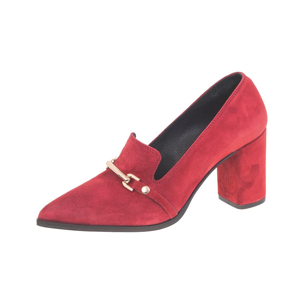 WALL STREET – Γυναικείες γόβες ADAMS WALL STREET κόκκινες