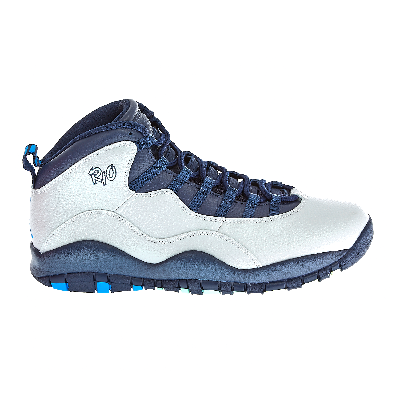 NIKE - Ανδρικά παπούτσια Nike AIR JORDAN RETRO 10 γκρι-μπλε ... fde6adc7eb4