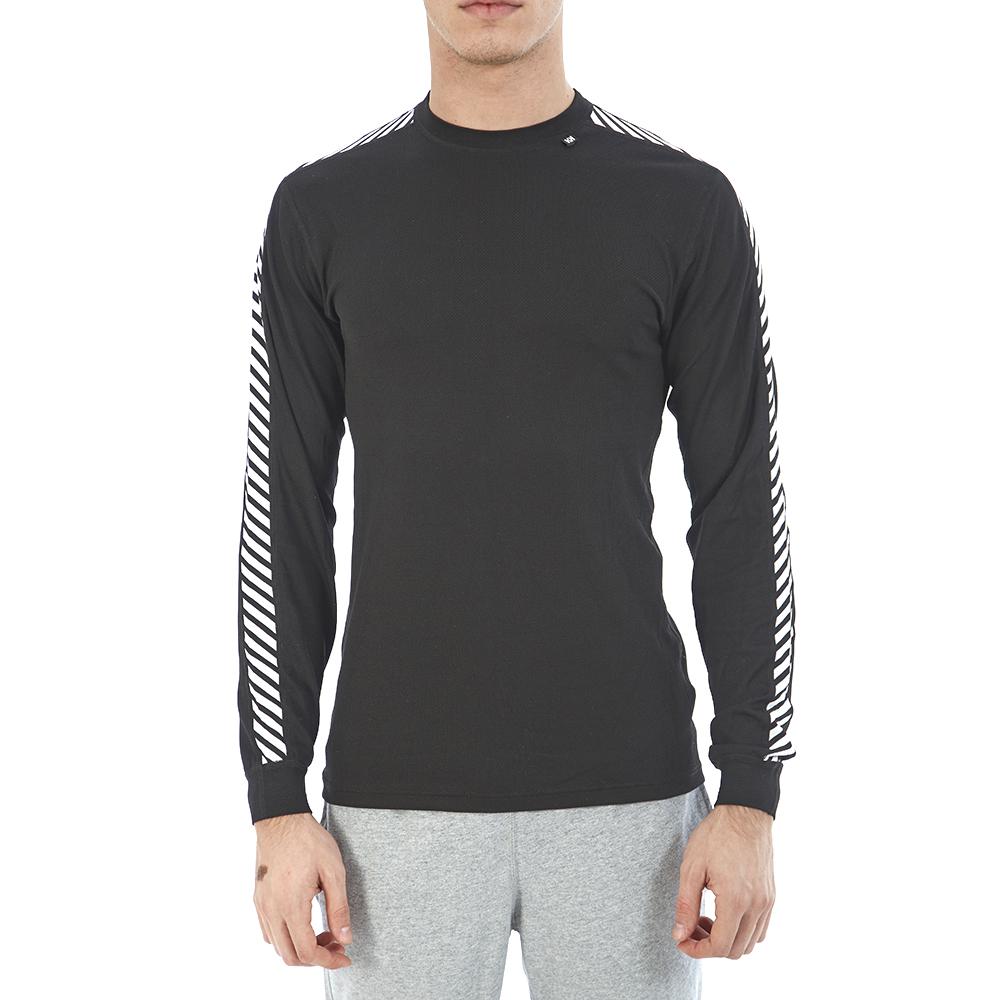 HELLY HANSEN - Ανδρική μπλούζα Helly Hansen μαύρη ανδρικά ρούχα αθλητικά t shirt