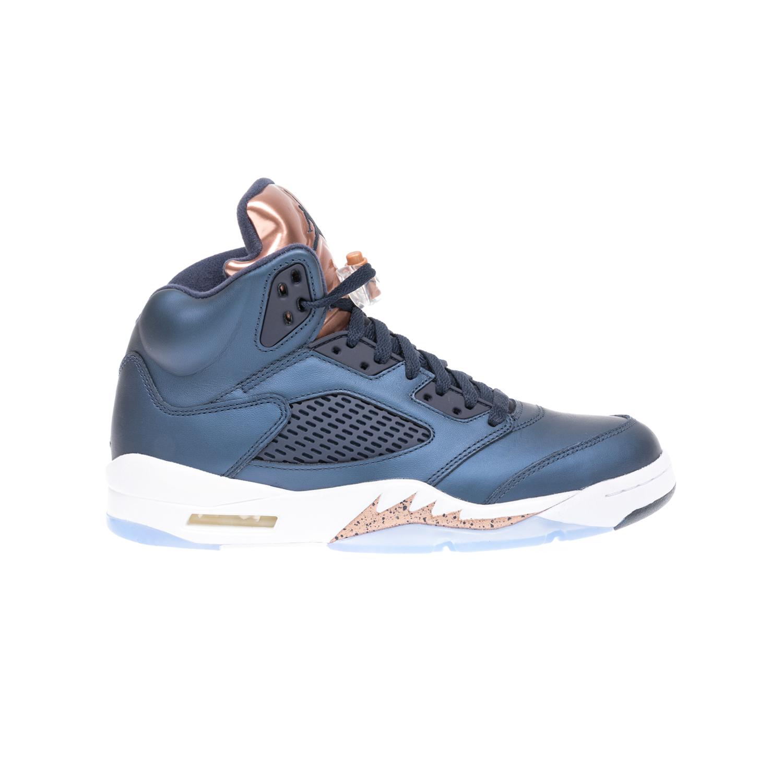 NIKE – Αντρικά αθλητικά παπούτσια NIKE AIR JORDAN 5 RETRO μπλε