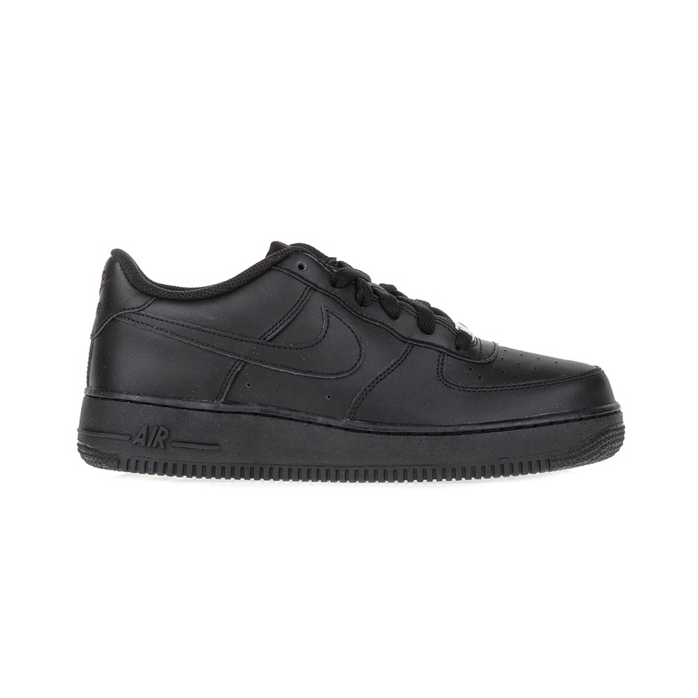 NIKE – Αγορίστικα παπούτσια NIKE AIR FORCE 1 μαύρα