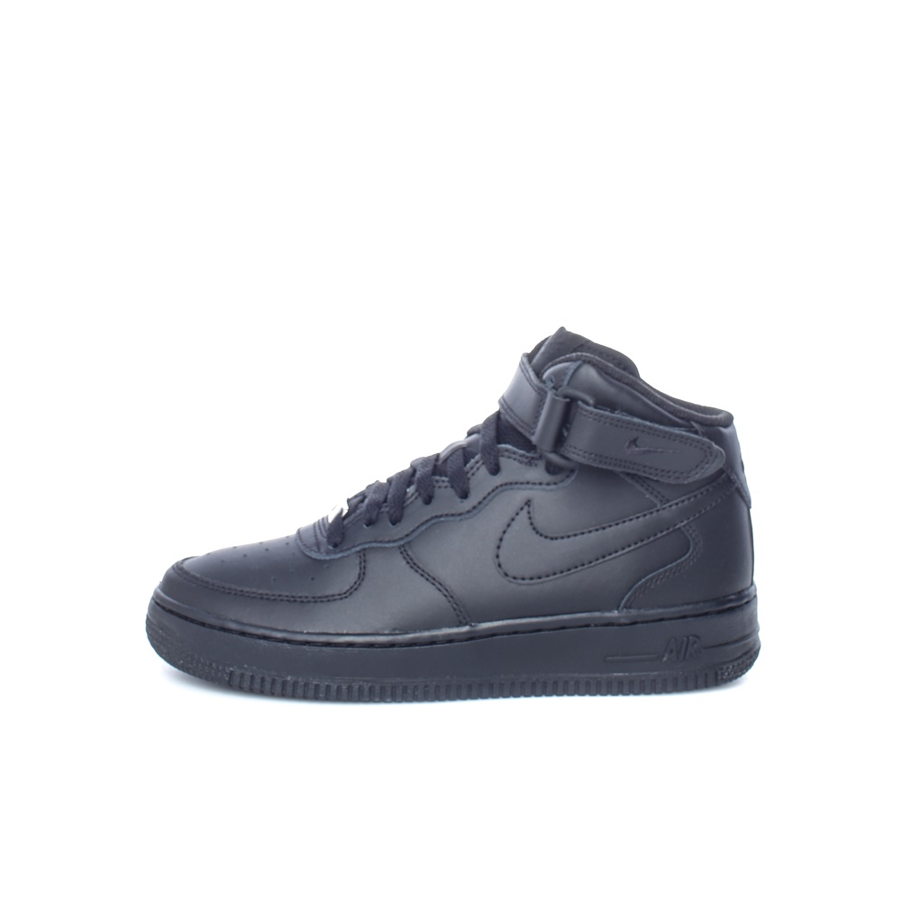 NIKE – Παιδικά παπούτσια AIR FORCE 1 MID (GS) μαύρα