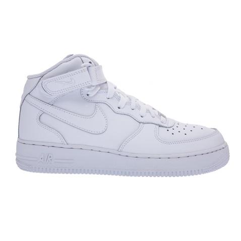Παιδικά παπούτσια NIKE AIR FORCE 1 MID λευκά (616063.1-0091 ... 071cbc847c5