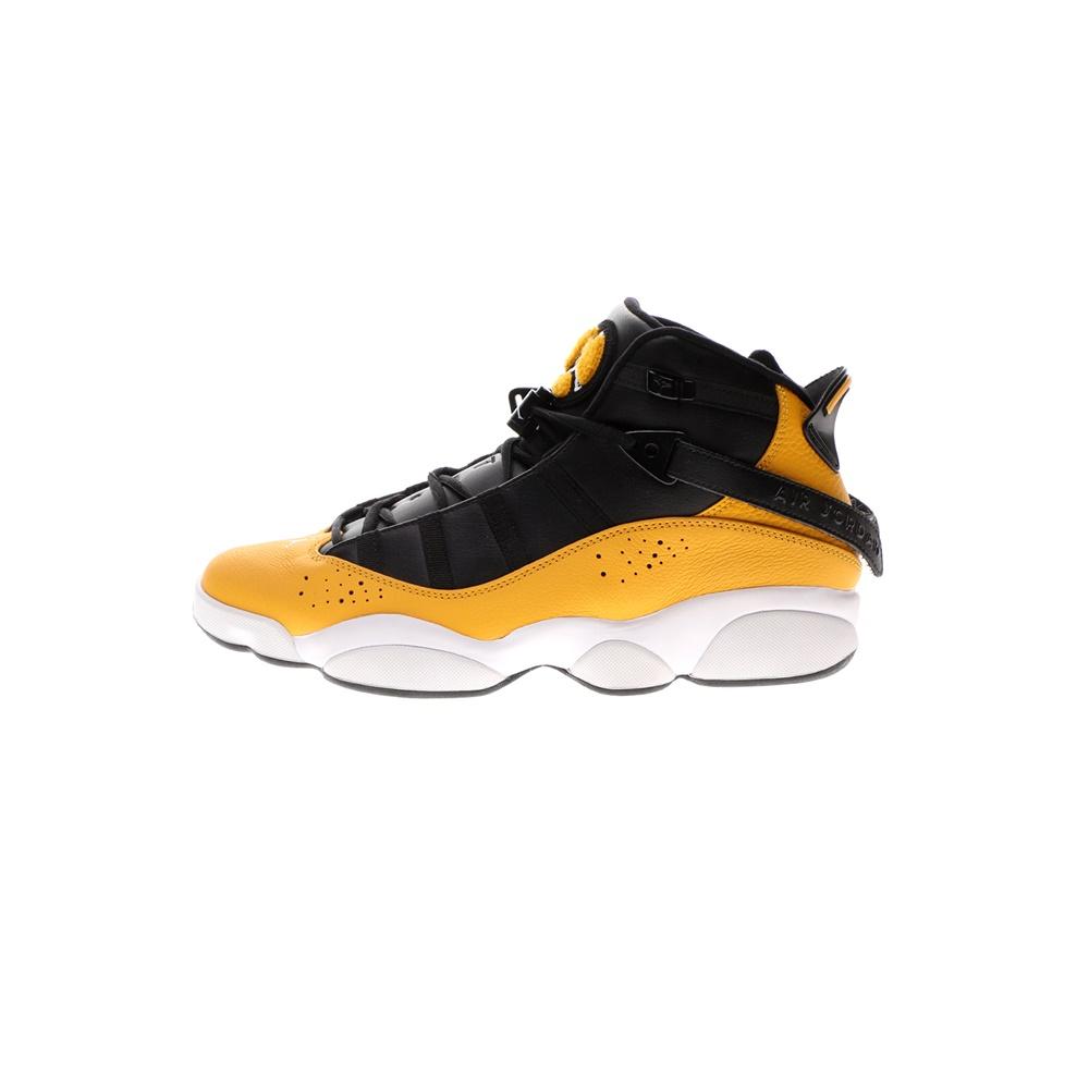NIKE – Ανδρικά παπούτσια NIKE Jordan 6 Rings μαύρα κίτρινα