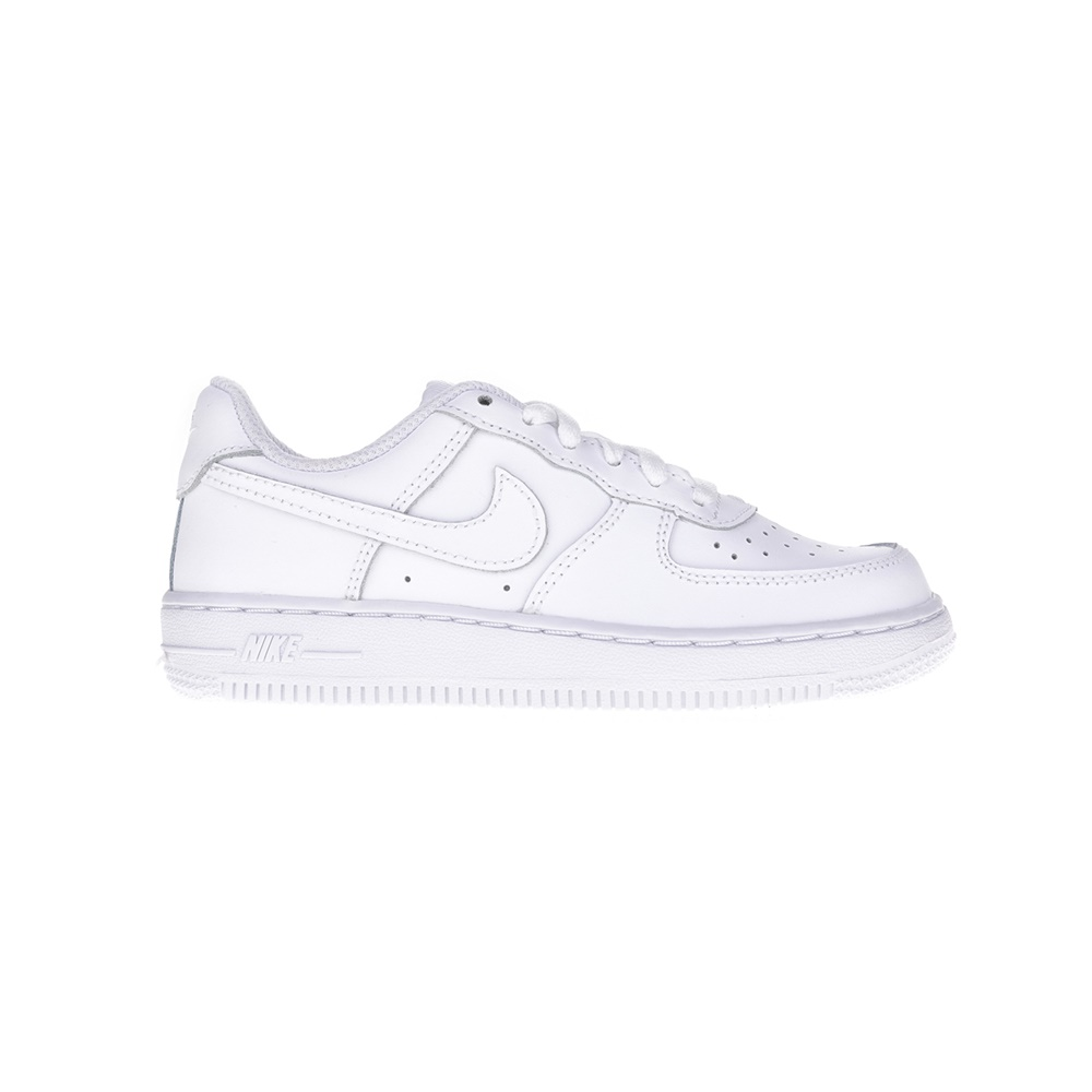 NIKE – Παιδικά παπούτσια NIKE FORCE 1 (PS) λευκά