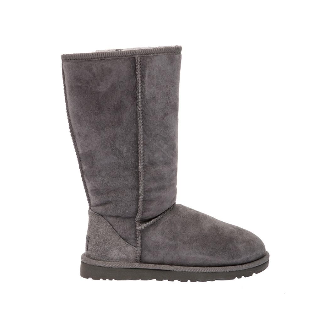 UGG - Γυναικείες μπότες Ugg Australia γκρι γυναικεία παπούτσια μπότες μποτάκια μπότες