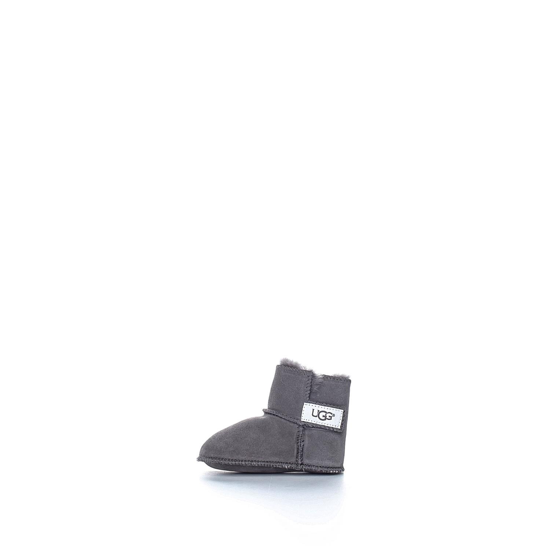 UGG - Βρεφικά μποτάκια Ugg Erin γκρι παιδικά baby παπούτσια μπότες μποτάκια