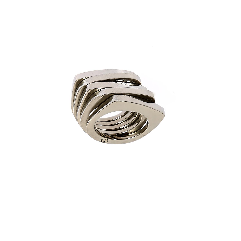 FOLLI FOLLIE - Ατσάλινο δαχτυλίδι Folli Follie