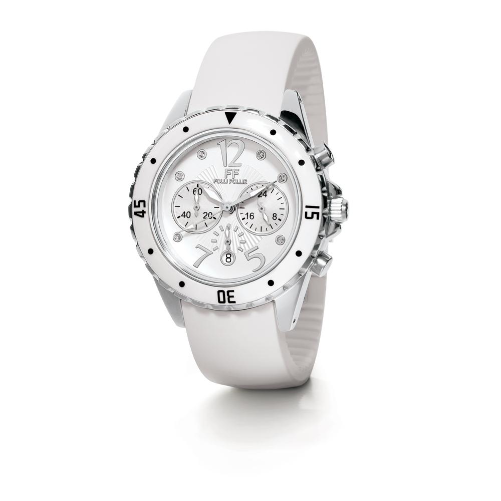FOLLI FOLLIE - Γυναικείο ρολόι Folli Follie λευκό γυναικεία αξεσουάρ ρολόγια αθλητικά