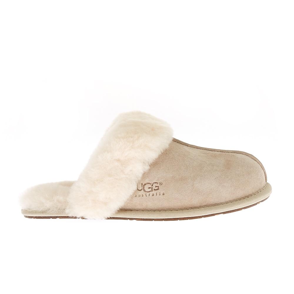 UGG - Γυναικείες παντόφλες Ugg Australia μπεζ γυναικεία παπούτσια παντόφλες