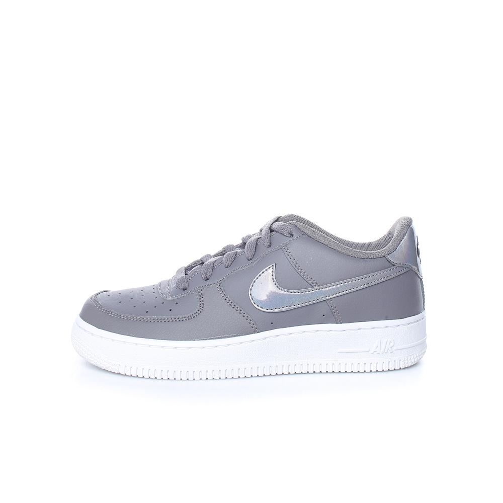 NIKE – Παιδικά παπούτσια NIKE AIR FORCE 1 (GS) γκρι