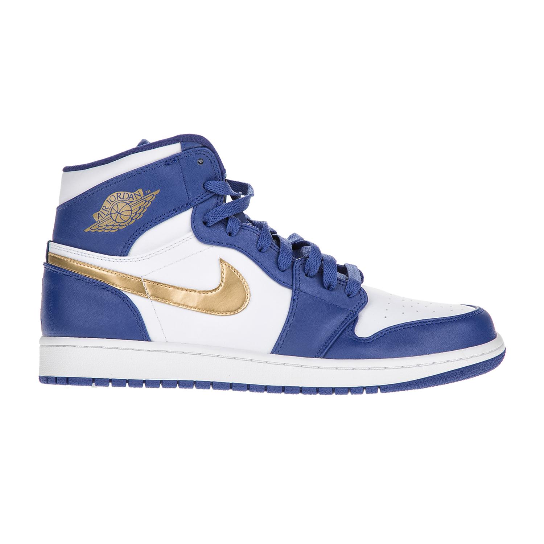 NIKE – Ανδρικά παπούτσια NIKE AIR JORDAN 1 RETRO HIGH μπλε-λευκά
