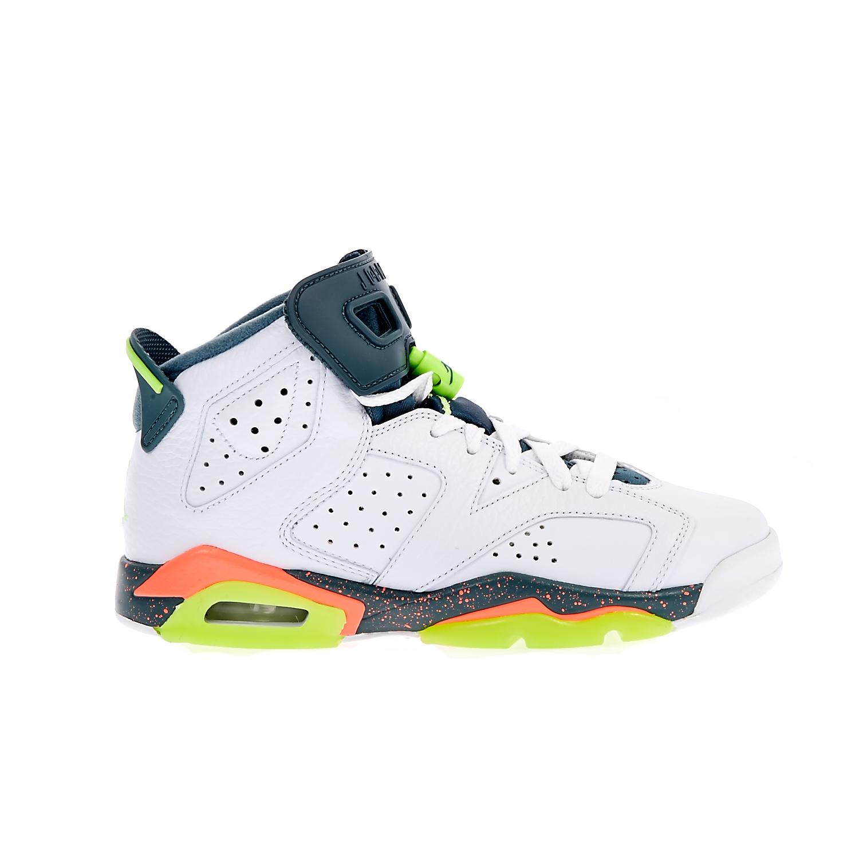 NIKE - Παιδικά παπούτσια NIKE AIR JORDAN 6 RETRO λευκά ⋆ EliteShoes.gr 578d45232de