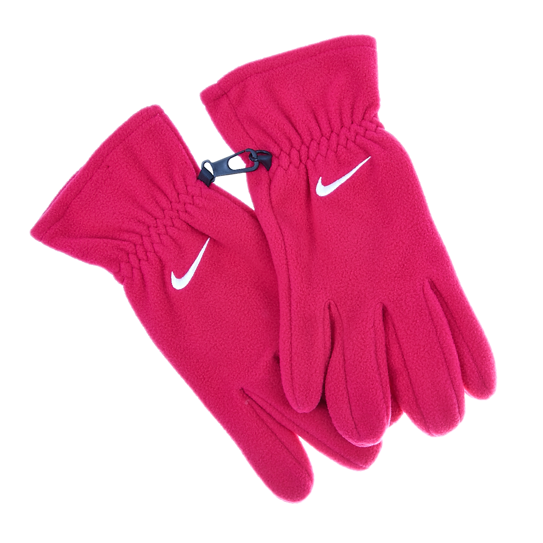 NIKE - Γάντια Nike φούξια γυναικεία αξεσουάρ φουλάρια κασκόλ γάντια