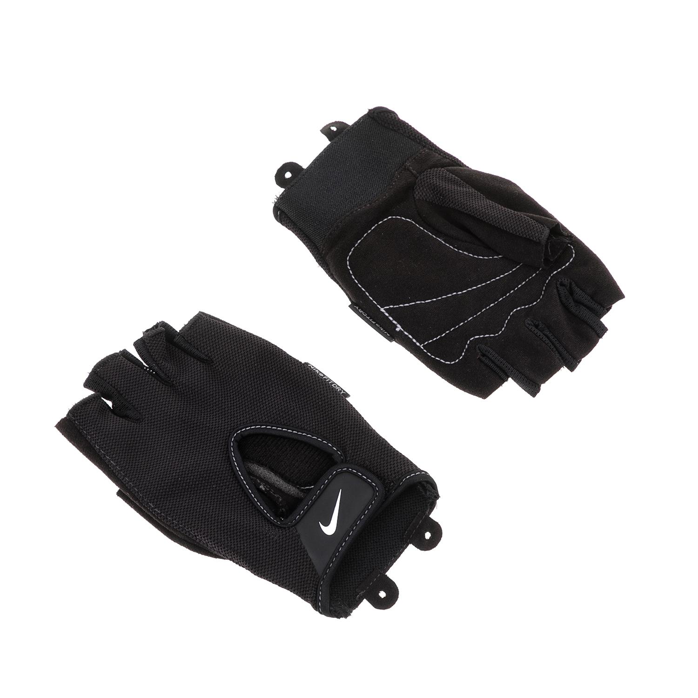 NIKE - Ανδρικά γάντια προπόνησης ΝΙΚΕ FUNDAMENTAL FITNESS GLOVE μαύρα ανδρικά αξεσουάρ αθλητικά είδη εξοπλισμός