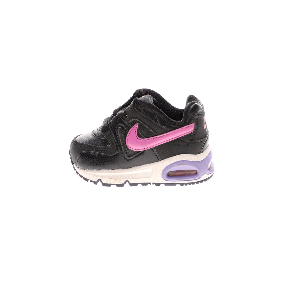NIKE – Βρεφικά αθλητικά παπούτσια NIKE AIR MAX COMMAND (TD) μαύρα ροζ