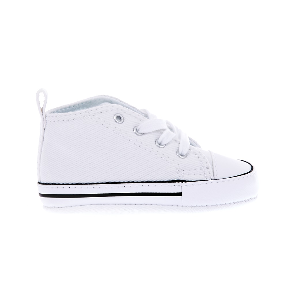 CONVERSE – Βρεφικά παπούτσια Chuck Taylor First Star Hi λευκά
